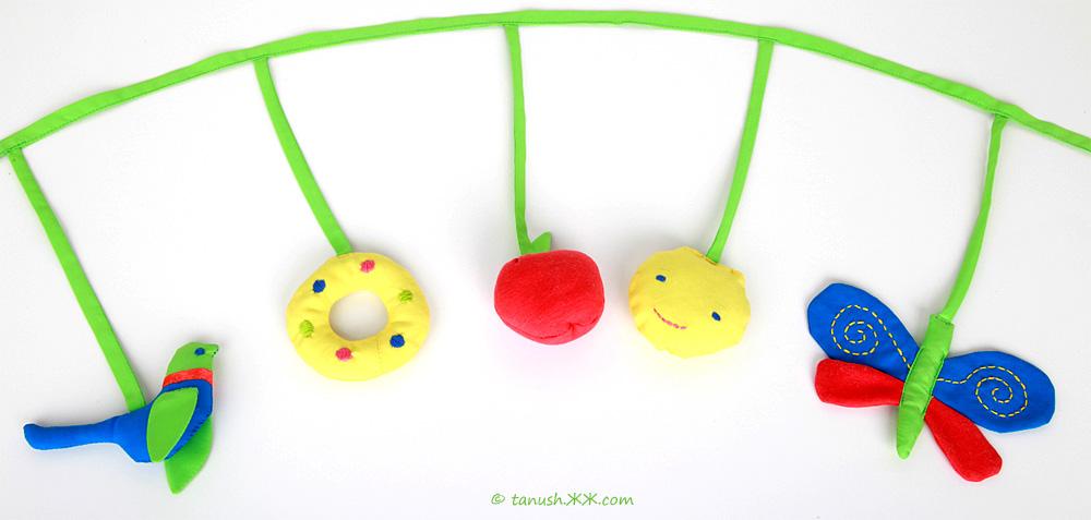 Игрушки своими руками на коляску