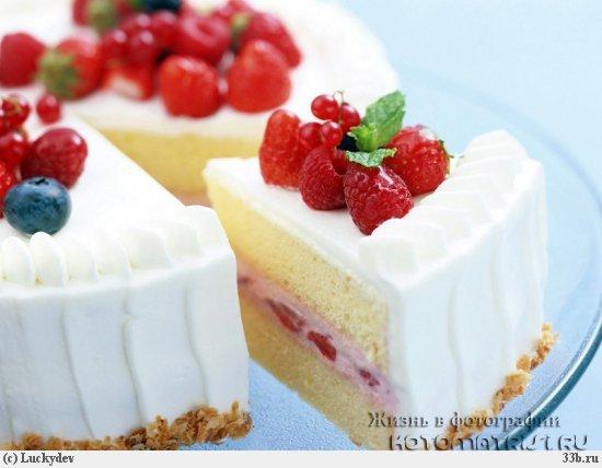 Красивый и вкусный торт своими руками
