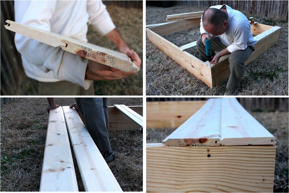Сделать песочницу своими руками инструкция