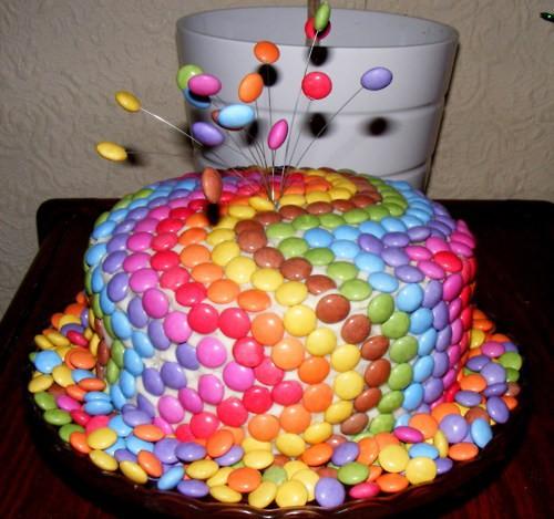 Как украсить торт своими руками с фото