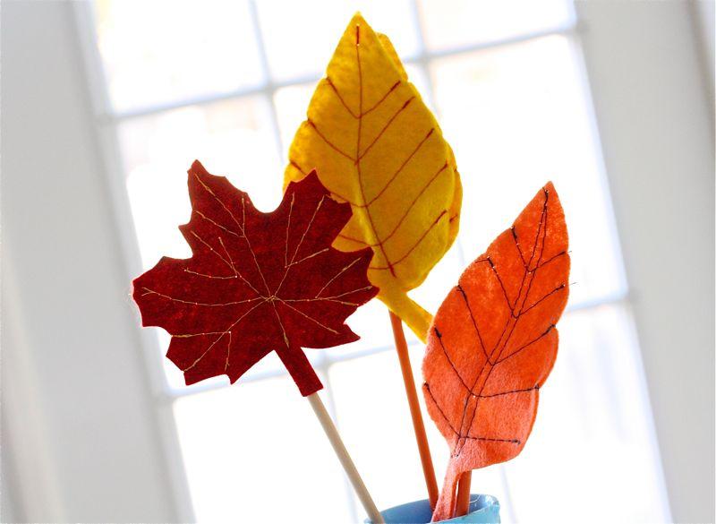 Листья для танца своими руками