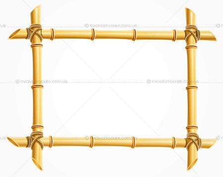 Рамки из бамбука своими руками