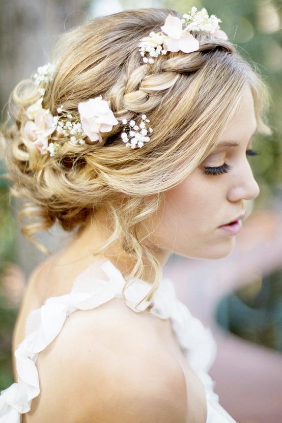 Свадебная прическа своими руками фото