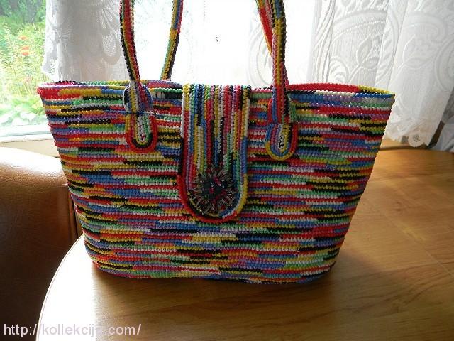 Пляжные сумки своими руками крючком