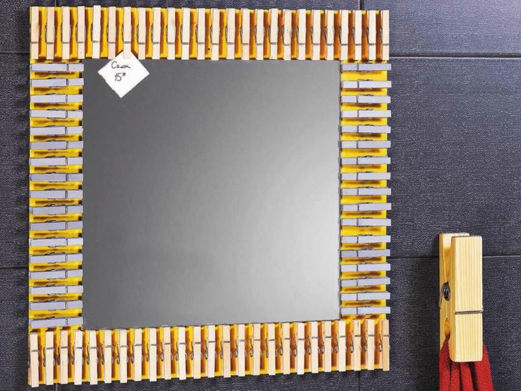 Рамка для прямоугольного зеркала своими руками