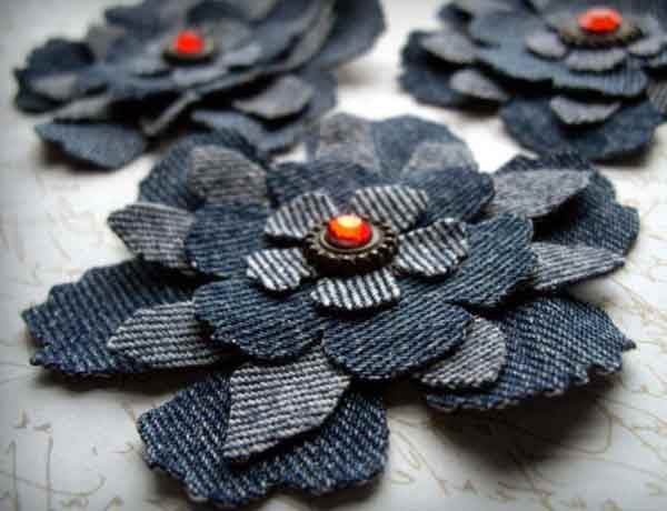 Аппликации на ткани своими руками из джинсовой ткани 4