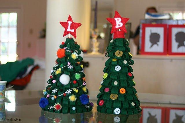Сделать елку своими руками из подручных средств