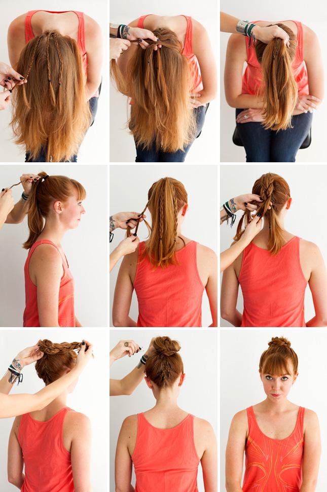 3 простых способа, как заплести красивую косу (мастер-класс) - сделай своими руками Мастер классы с фото на Goldenhands