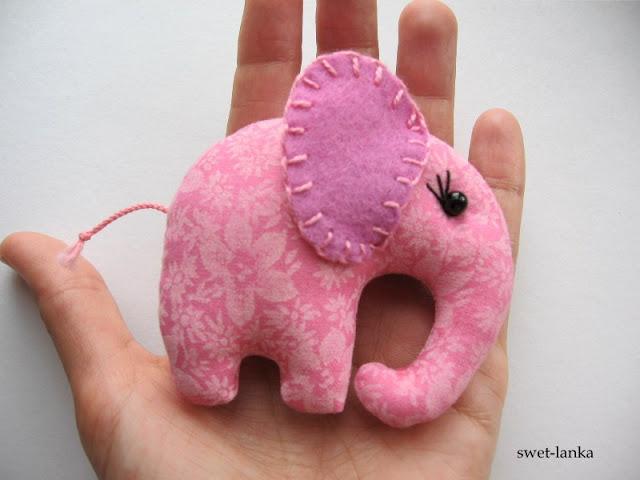 Мягкие игрушки своими руками слоники