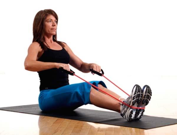 Упражнения с пружинным эспандером для мужчин в картинках 12