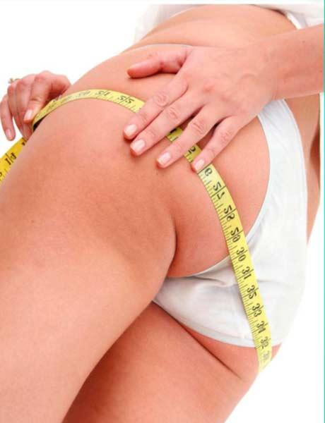Как похудеть только в бедрах и ягодицах